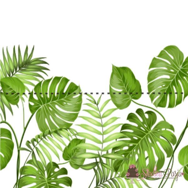 Zawieszki do woreczków liście