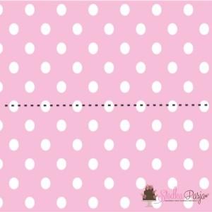 Zawieszki do woreczków - różowe