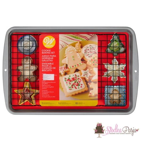 Zestaw Wilton do pieczenia świątecznych ciasteczek