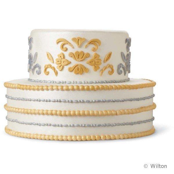 Mata silikonowa Wilton - ornamenty