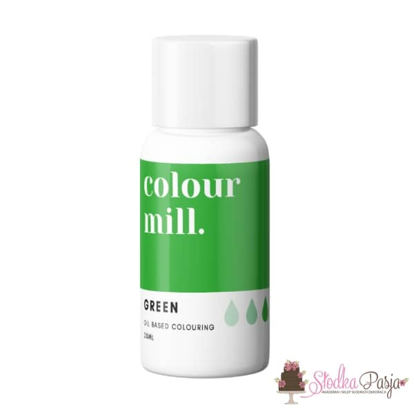 Barwnik olejowy Colour Mill 20 ml - Green