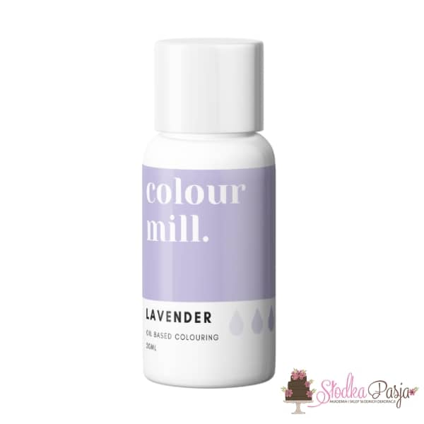 Barwnik olejowy Colour Mill 20 ml - Lavender