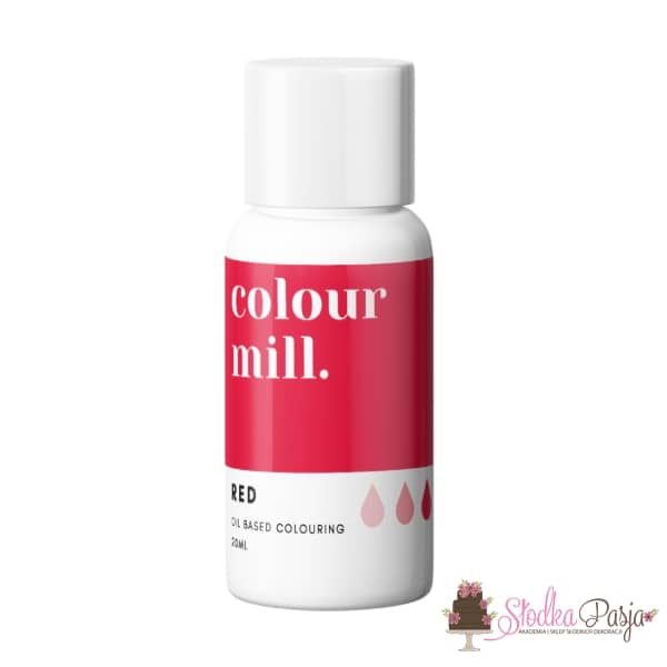 Barwnik olejowy Colour Mill 20 ml - Red