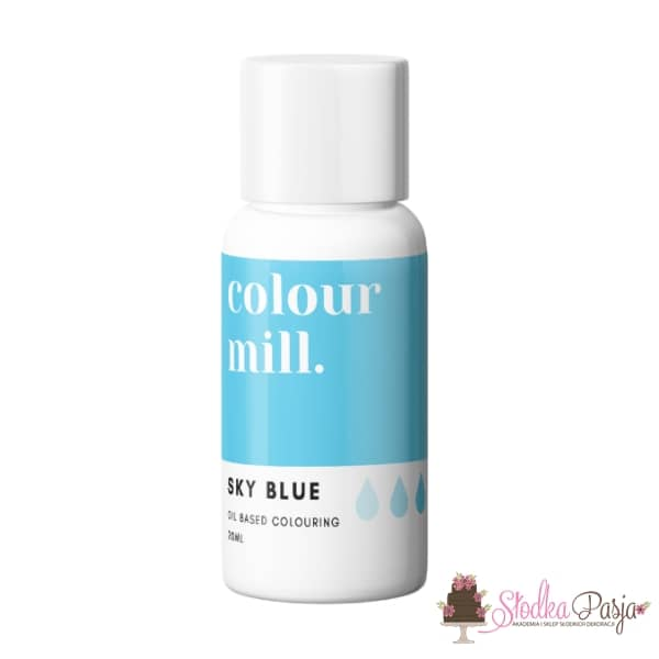 Barwnik olejowy Colour Mill 20 ml - Sky Blue