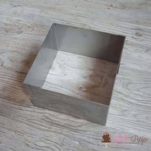 DOROSIOWE RANTY Rant do ciast i tortów kwadratowy 15 cm, wys. 12 cm