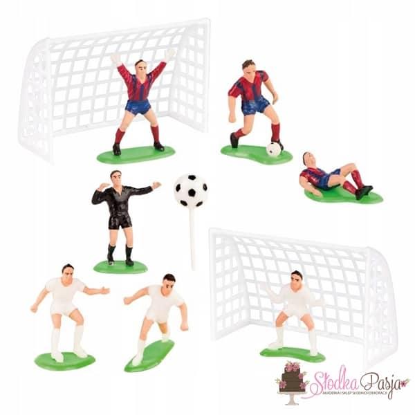 Figurka na tort zestaw Piłkarze - 10 szt