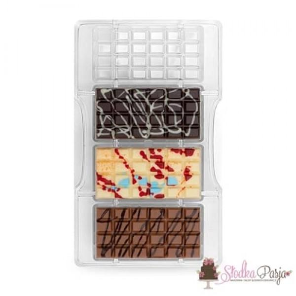 Forma do czekolady Decora - 4 tabliczki czekolady