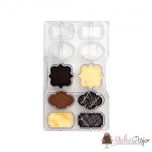 Forma do czekolady Decora - etykietki
