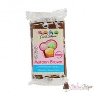 Masa cukrowa Fun Cakes 250 g - Maroon Brown