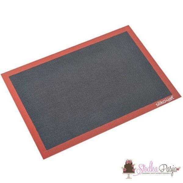 Mata silikonowa do pieczenia perforowana 52 cm x 31,5 cm