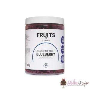 Owoce liofilizowane Pi-Nuts - Jagoda cała 100 g