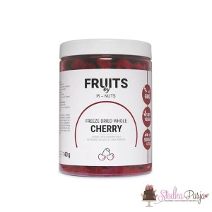 Owoce liofilizowane Pi-Nuts - Wiśnia cała 140 g