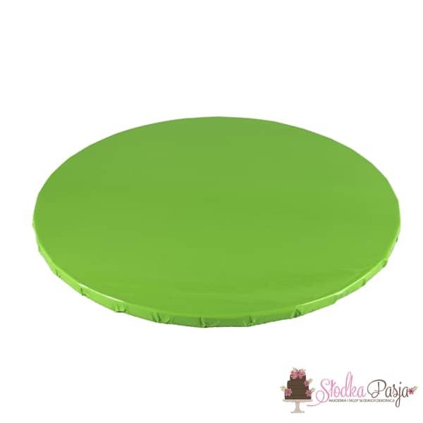 Podkład pod tort okrągły 25 cm - limonka