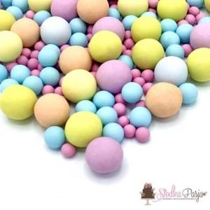 Posypka cukrowa Happy Sprinkles Bubble Gum Choco Crunch135g - kolorowa