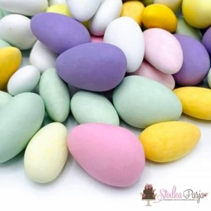 Posypka cukrowa Happy Sprinkles Easter Almonds 160 g - kolorowa