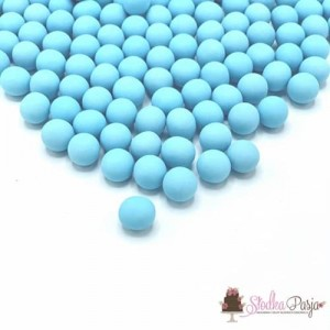Posypka cukrowa Happy Sprinkles Dull Blue Choco M 90 g - niebieska