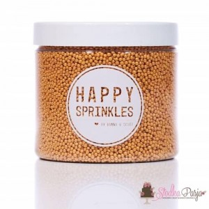Posypka cukrowa Happy Sprinkles Gold Simplicity 90 g - złota
