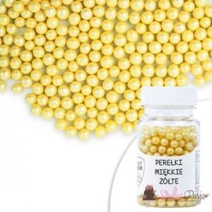 Posypka cukrowa SD kuleczki żółtemiękkie 6 mm - 30 g