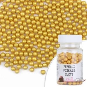 Posypka cukrowa SD kuleczki złotemiękkie 6 mm - 30 g