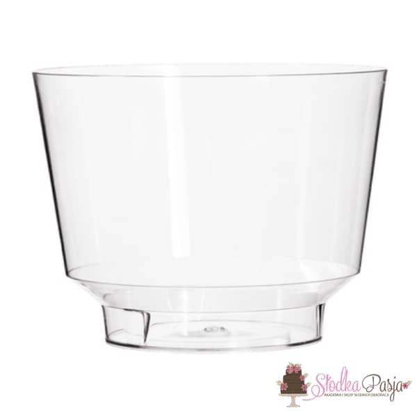 Pucharek plastikowy okrągły 250 ml - 25 szt
