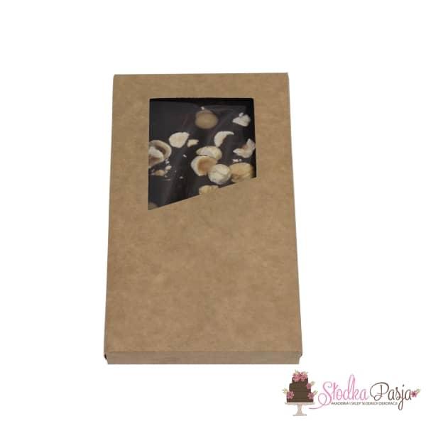 Pudełko na tabliczkę czekolady z okienkiem
