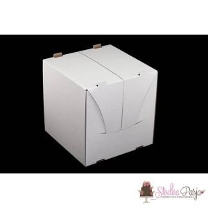 Pudełko na tort wysokie 25x25x25