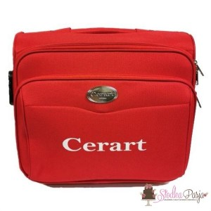 Walizka CERART - czerwona