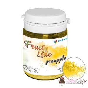 Barwnik spożywczy naturalny w proszku żółty - ananas