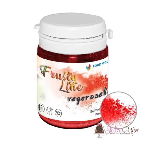 Barwnik spożywczy naturalny w proszku czerwony/vegeroselle
