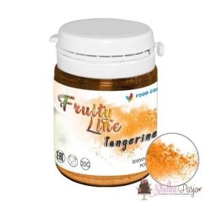 Barwnik spożywczy naturalny w proszku pomarańczowy - tangerin