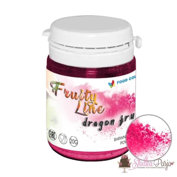 Barwnik spożywczy naturalny w proszku różowy - dragon fruit