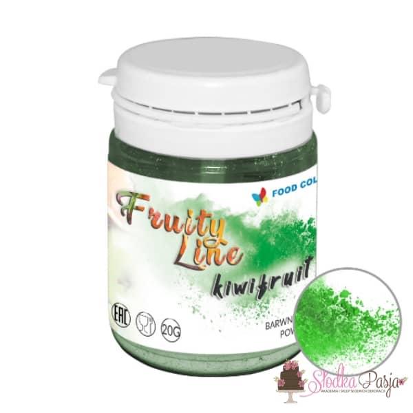 Barwnik spożywczy naturalny w proszku zielony - kiwi fruit