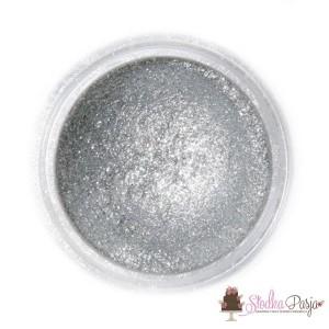 Barwnik spożywczy w proszku Fractal srebrny - SPARKLING DARK SILVER - 3,5 g
