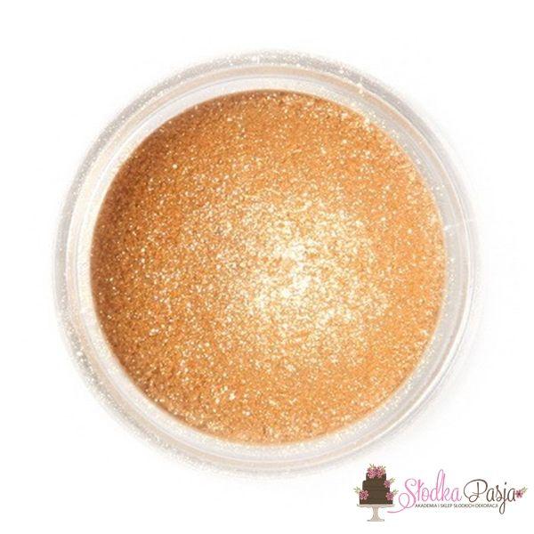 Barwnik spożywczy w proszku Fractal błyszczący złoty - SPARKLING GOLD - 3,5 g