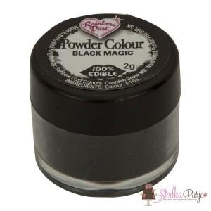 Barwnik spożywczy w proszku Rainbow Dust BLACK MAGIC- CZARNY