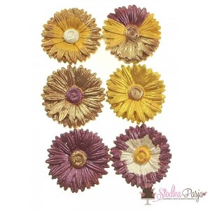 Brokat spożywczy Wow Kolor brązowy - Brown Amber