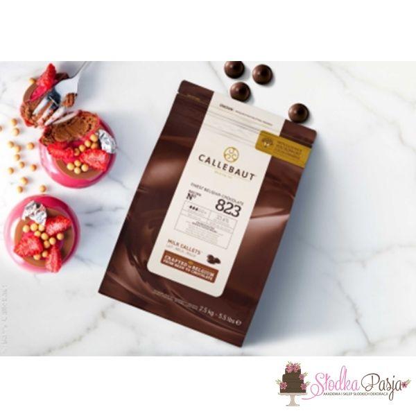 Czekoalda Callebaut mleczna 823 - 1 kg