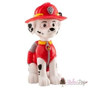 Figurka na tort Psi Patrol - biały piesek