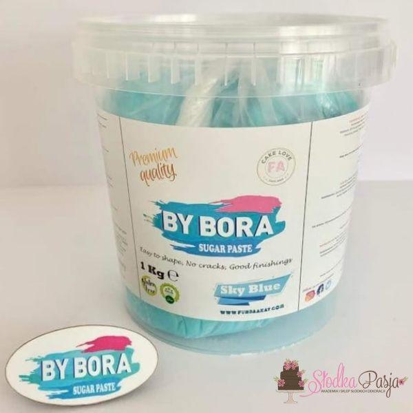 Masa cukrowa By Bora niebieska 1kg