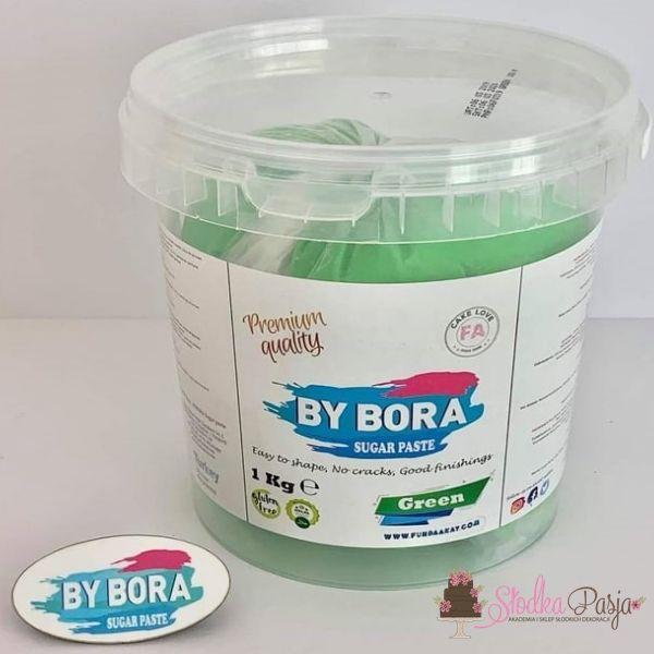 Masa cukrowa By Bora zielona 1kg
