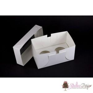Opakowanie pudełko na 2 muffiny