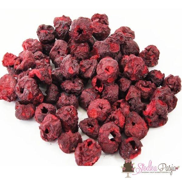 Owoce liofilizowane Wiśnia cała - 20 g