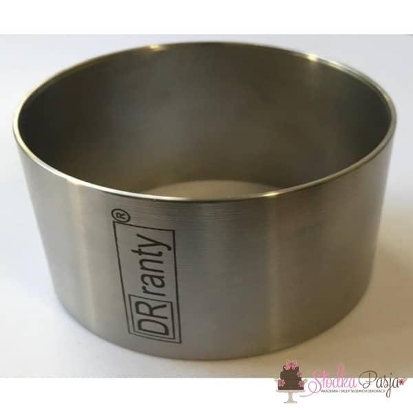 Pierścień cukierniczy do deserów DOROSIOWE RANTY okrągły 7,5 cm, wys. 5 cm