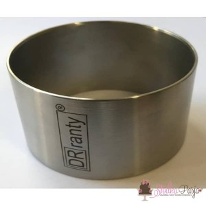 Pierścień cukierniczy do deserów DOROSIOWE RANTY okrągły 8,5 cm, wys. 5cm