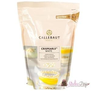 Posypka Callebaut Crispearls biała czekolada - 0,8 kg