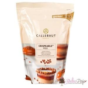 Posypka Callebaut Crispearls mleczna czekolada - 0,8 kg
