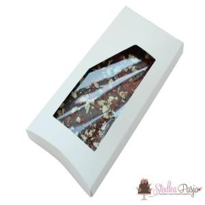 Pudełko na tabliczkę czekolady - białe