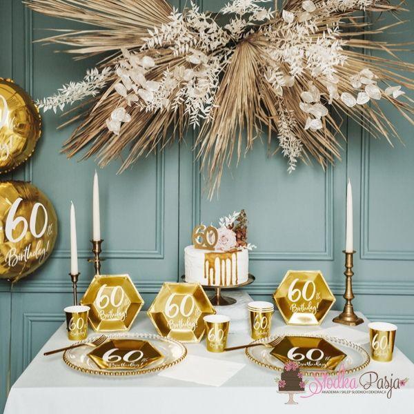 Świeczka urodzinowa liczba 50 złota