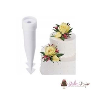 Uchwyty kolce Wilton na prawdziwe kwiaty - 12 szt