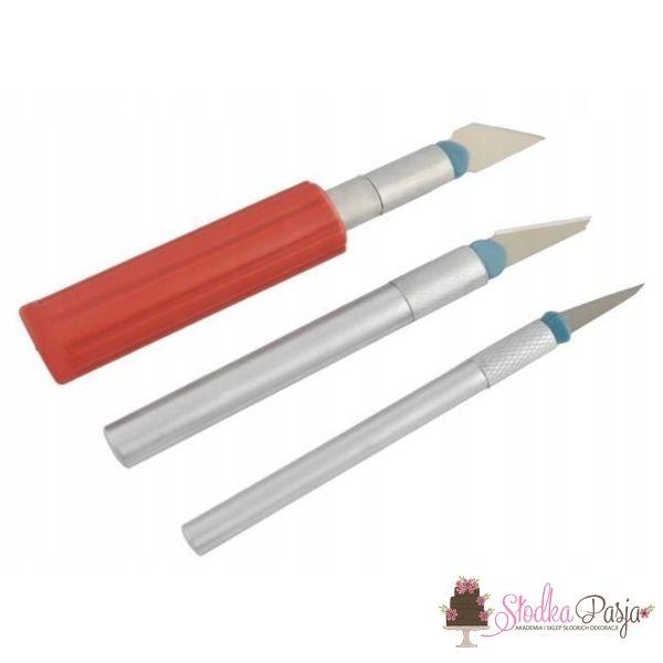 Zestaw noży modelarskich do rzeźbienia